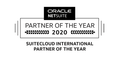 NetSuite Oracle Partner of the Year 2020